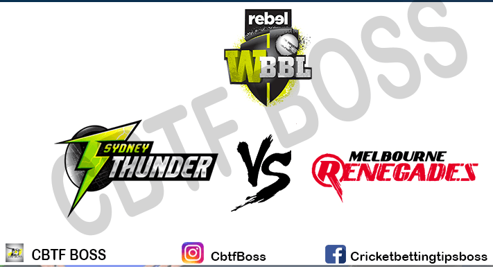 MELBOURNE RENEGADES VS THUNDER 3RD BBL BY CBTF