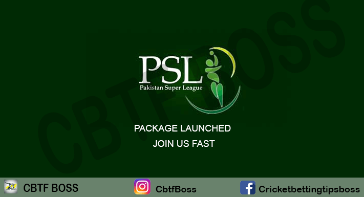 PSl Betting tips Package Launched Join Fast